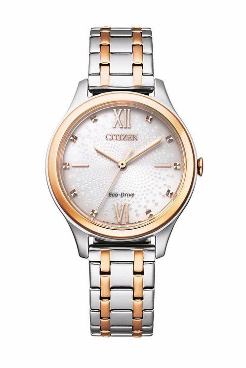 Citizen EM0506-77A Ivory/Two Tone