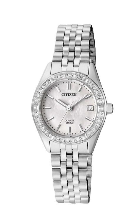 Citizen EU6060-55D Silver/Mother of Pearl