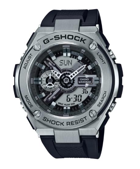 G-Shock G-Steel GST-410-1A Silver/Black