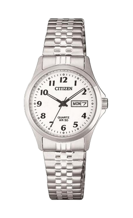 Citizen EQ2000-96A Silver/White