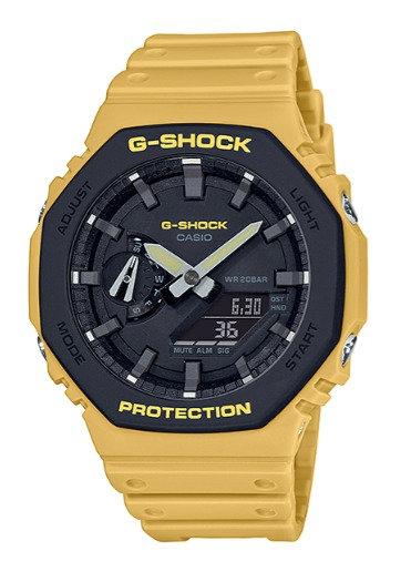 G-Shock Carbon Core GA-2110SU-9A Mustard Yellow