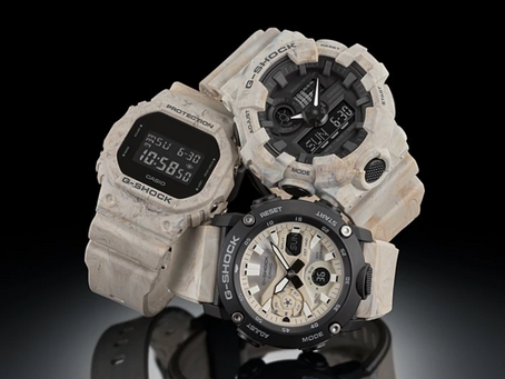 G-Shock / Baby-G: UTILITY WAVY MARBLE Series