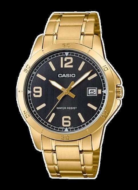 Casio MTP-V004G-1B Gold/Black