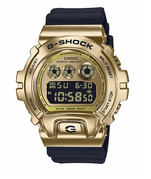 G-Shock GM-6900G-9 Black/Gold