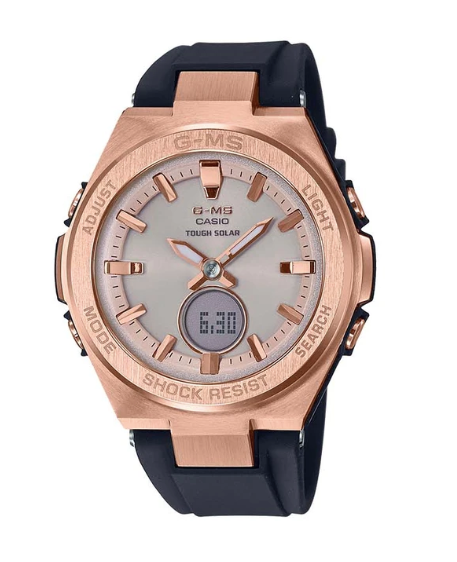 Baby-G G-MS MSG-S200G-1A Black/Rose Gold