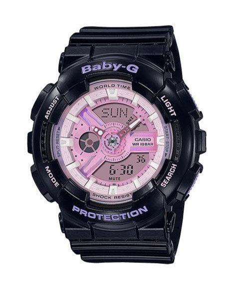 Baby-G BA-110PL-1A Black/Pink