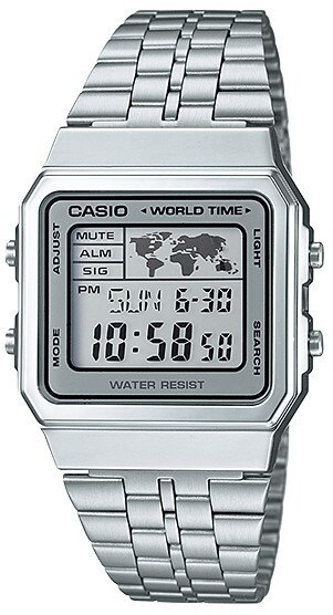 Casio A500WA-7DF Silver
