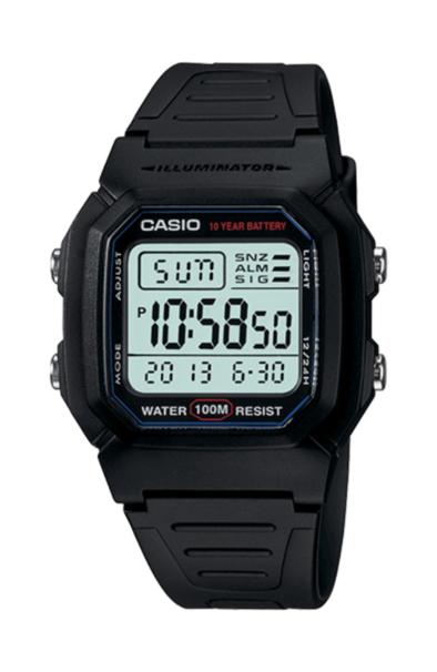 Casio W800H-1 Black