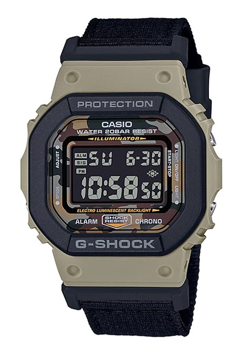 G-Shock DW-5610SUS-5D Black/Khaki
