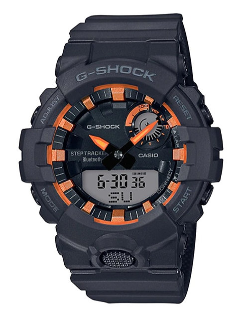 G-Shock GBA-800SF-1A Black/Orange