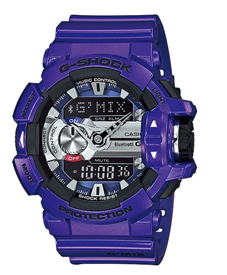 G-Shock Bluetooth GBA-400-2A Purple