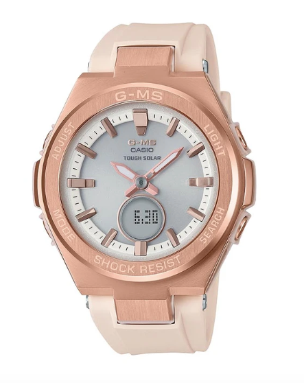 Baby-G G-MS MSG-S200G-4A Beige/Rose Gold