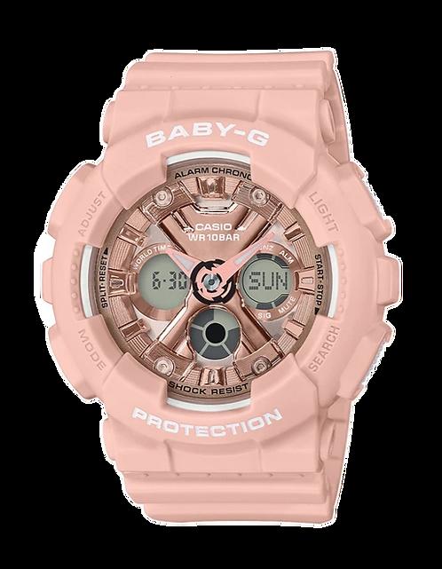 Baby-G BG-169G-7B Peach/Rose Gold