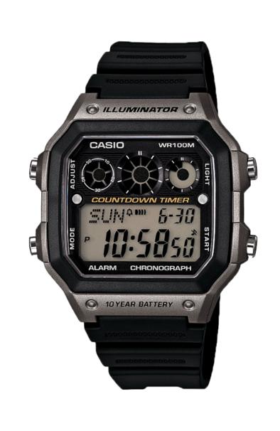 Casio AE1300WH-8A Black/Dark Grey
