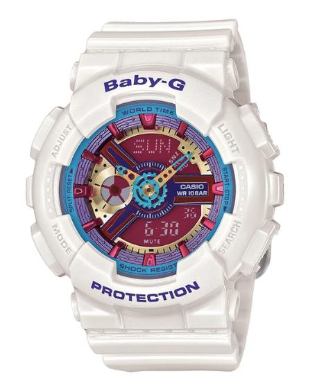 Baby-G BA-112-7A White/Multi