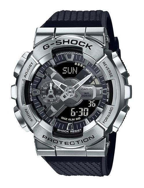 G-Shock GM-110-1A Silver/Black