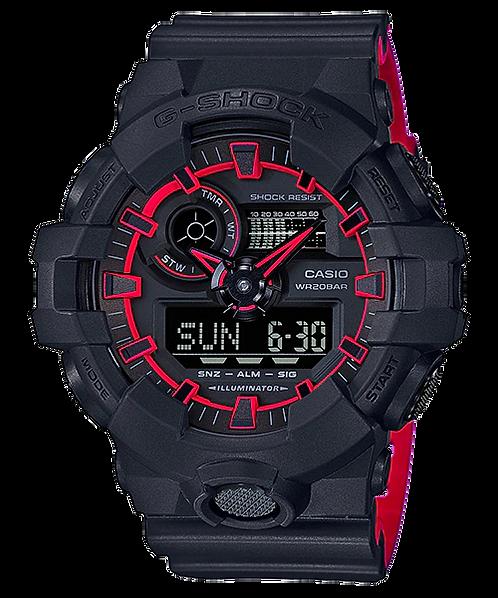 G-Shock GA-700SE-1A4 Black/Red