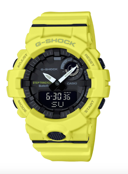 G-Shock  GBA-800-9A Yellow