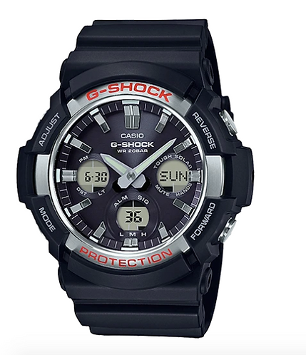 G-Shock GAS-100-1A Black/Silver