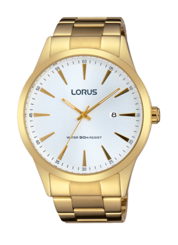 Lorus RH972FX9 Gold/White