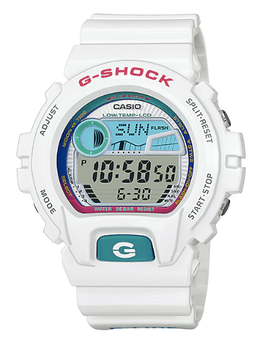 G-Shock GLX-6900-7DR White/Rainbow