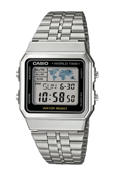 Casio A500WA-1DF Silver