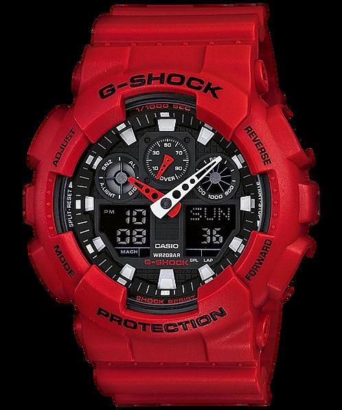 G-Shock GA-100B-4A Red