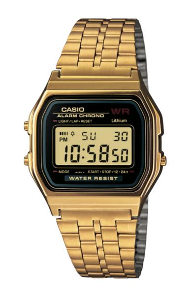Casio A159WGEA-1 Gold