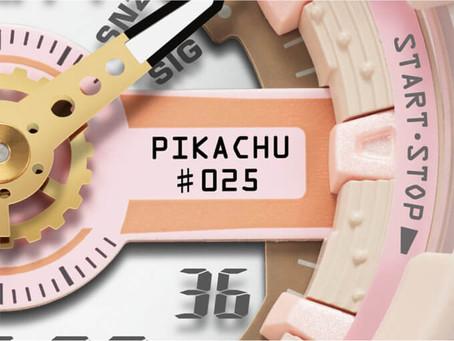 Baby-G x Pokémon Collaboration BA110PKC-4A