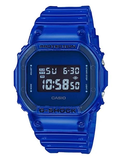 G-Shock DW5600SB-2D Jelly Blue
