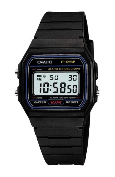 Casio F91W-1 Black