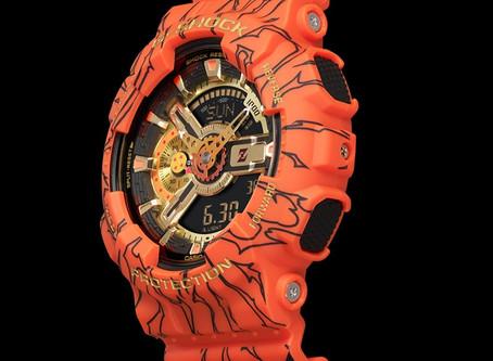 G-Shock x Dragon Ball Z collaboration GA-110JDB-1A4