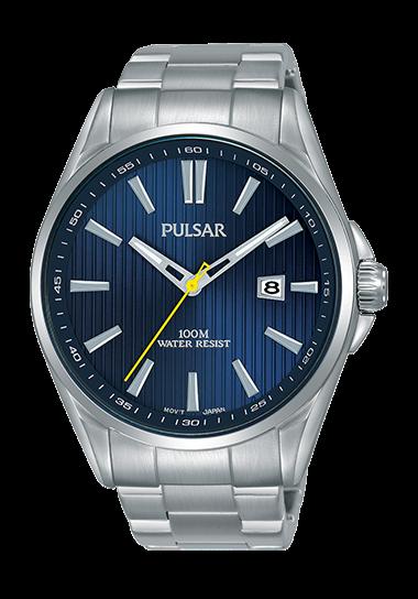 Pulsar PS9603 Silver/Navy