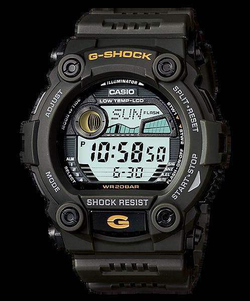 G-Shock Tide Graph G-7900-3D Green