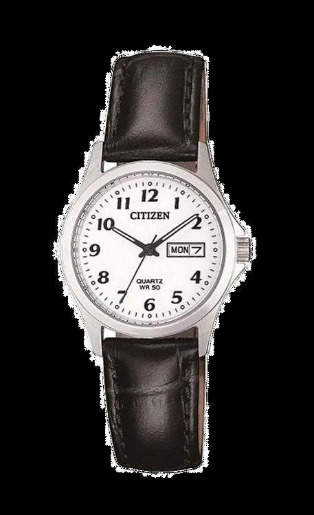 Citizen EQ2000-02A Silver/Black/White
