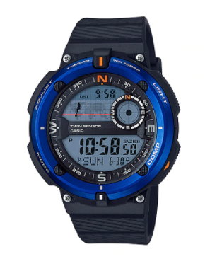 Casio SGW-600H-2A Black/Navy Blue