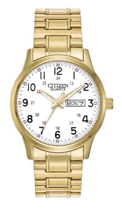 Citizen BF0612-95A Gold/White