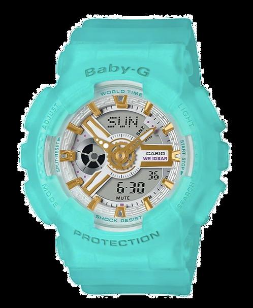 Baby-G BA-110SC-2A Blue Sea Glass