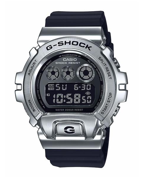 G-Shock GM-6900-1 Black/Silver