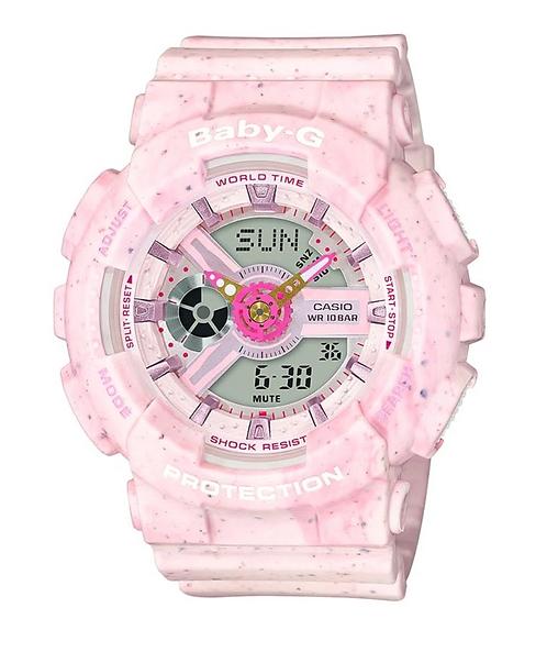 Baby-G BA110PI-4A Pink Confetti