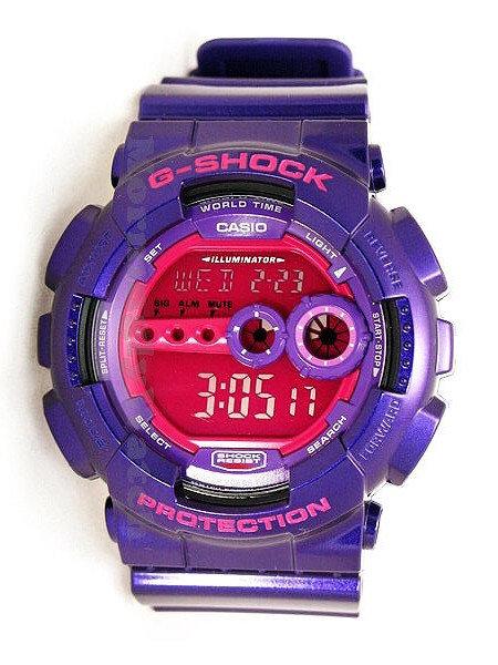 G-Shock Crazy Colours GD-100SC-6DR Purple/Pink
