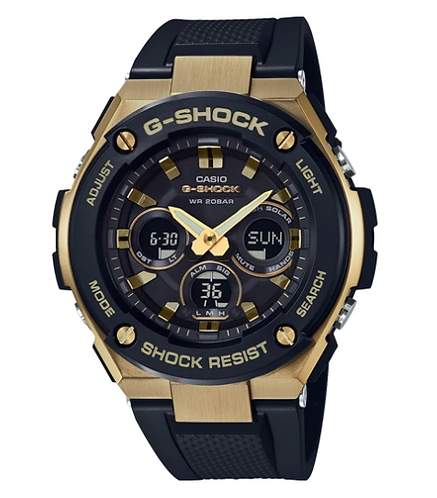 G-Shock G-Steel GST-S300G-1A9 Gold/Black