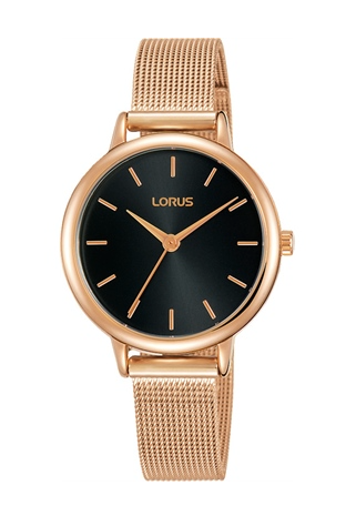 Lorus RG242NX-8 Rose Gold/Black