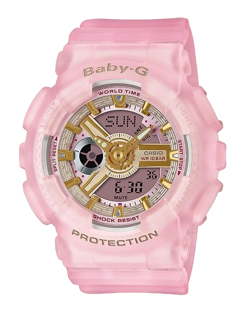Baby-G BA-110SC-4A Pink Sea Glass