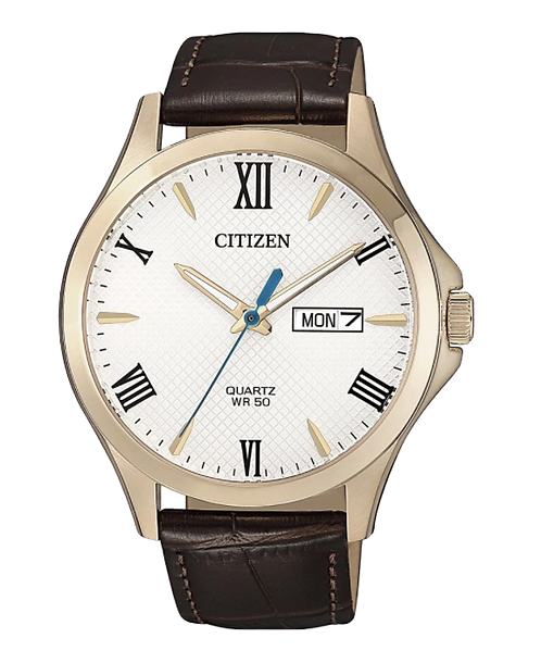 Citizen BF2023-01A Rose Gold/Brown/White