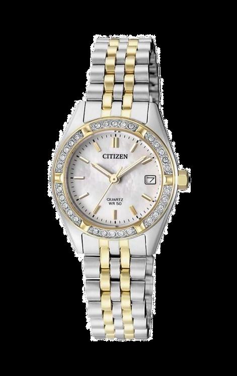 Citizen EU6064-54D Silver/Gold/Mother of Pearl