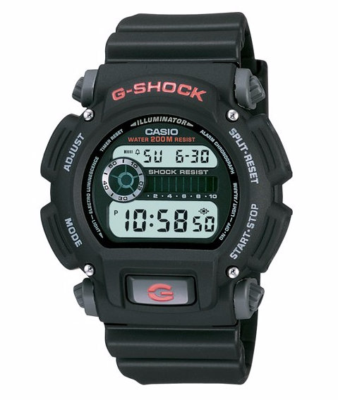 G-Shock DW9052-1V Black