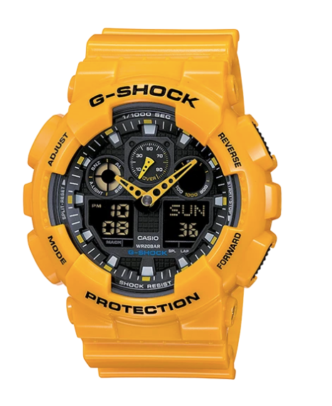 G-Shock GA-100A-9A Yellow