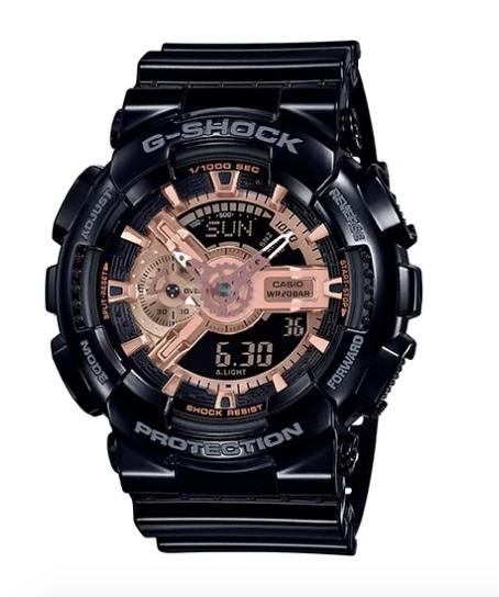 G-Shock GA-110MMC-1A Black/Rose Gold