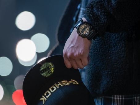 G-Shock x New Era collaboration GM-110NE-1A
